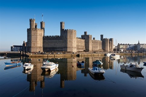 Caernarfon Castle, UNESCO World Heritage site