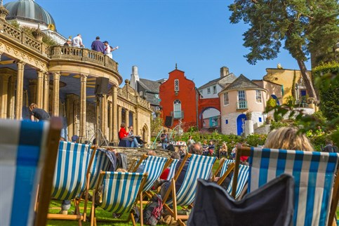 Portmeirion, Italianate village near Porthmadog