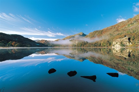 Snowdonia, lakes and rivers