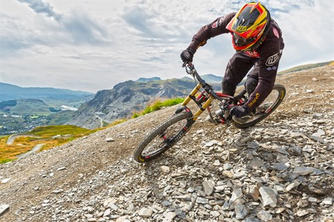 Antur Stiniog, the UK's best downhill MTB trails