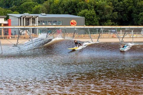 Surf Snowdonia, all weather inland surfing